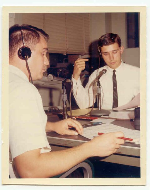 Election Night Coverage WHEN Radio- Early 1960s -Afternoon Announcer Deane Parkhurst, Newsman Doug Webster - Syracuse, NY