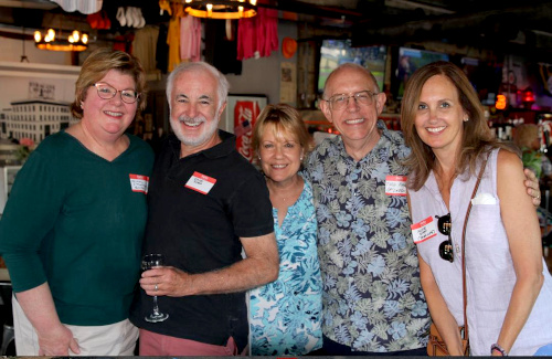 Syracuse Radio Reunion - Cindy Thomason - David Shea - Maryanne McLaren - Former Hot Hits 14FBL Air Personality Todd (Parker) McLaren & Mrs. David Shea - 2019