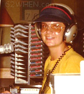 Radio Personality Leigh Taylor- 62 WHEN Radio Syracuse - Early 70s - 980 James St