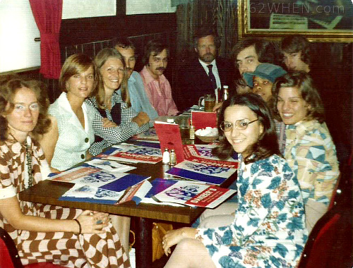 WHEN GM Bud Stiker Takes The Girls and Guys to Lunch at Danzers  - Early 70s - Syracuse radio